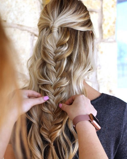 27 Easy Diy Date Night Hairstyles For 2019 Within Long Hairstyles For Night Out (View 16 of 25)