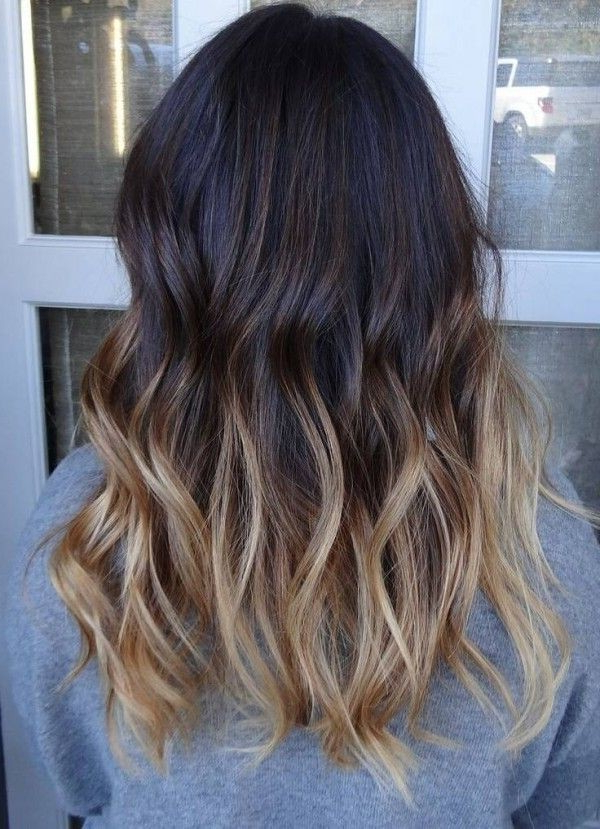 27 Exciting Hair Colour Ideas 2017: Radical Root Colours & Cool New Pertaining To Long Hairstyles Colors (View 13 of 25)