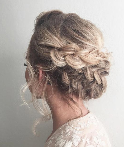 27 Gorgeous Prom Hairstyles For Long Hair | Stayglam In Romantic Prom Updos With Braids (View 4 of 25)