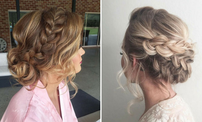 27 Gorgeous Prom Hairstyles For Long Hair | Stayglam In Upside Down Braid And Bun Prom Hairstyles (View 16 of 25)