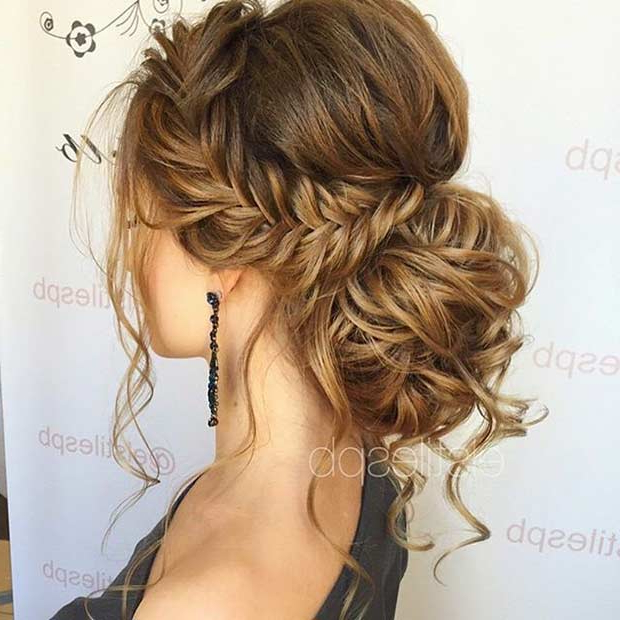 27 Gorgeous Prom Hairstyles For Long Hair   Stayglam Throughout Long Hairstyles Prom (View 24 of 25)