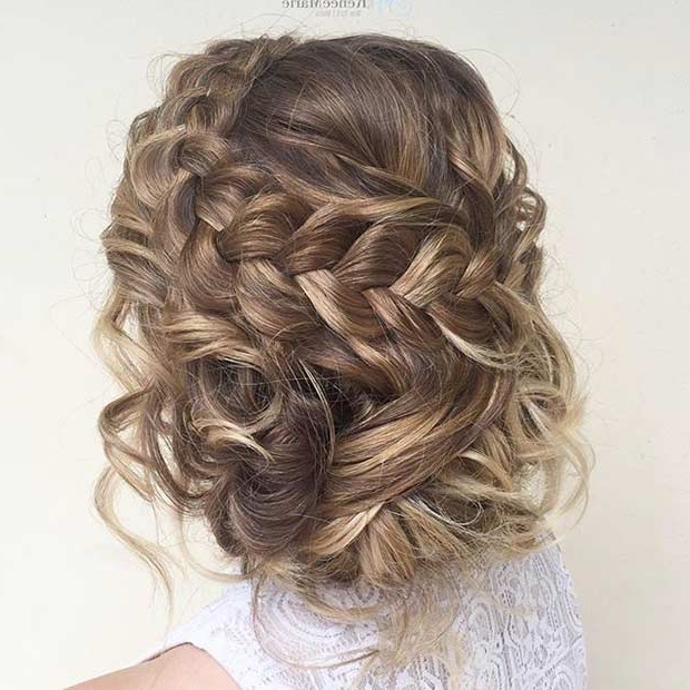 27 Gorgeous Prom Hairstyles For Long Hair   Stayglam With Regard To Bun And Three Side Braids Prom Updos (View 5 of 25)