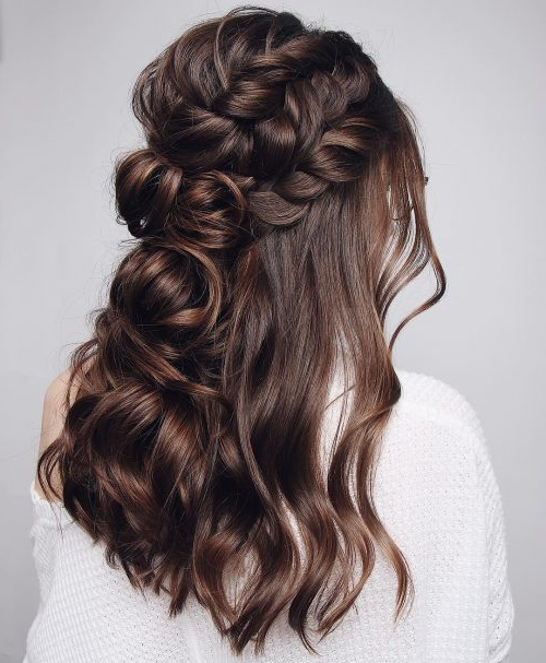 27 Gorgeous Wedding Hairstyles For Long Hair In 2019 For Long Hairstyles Wedding Guest (View 20 of 25)
