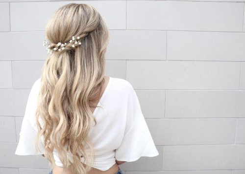 27 Gorgeous Wedding Hairstyles For Long Hair In 2019 Inside Long Hairstyles For Wedding (View 21 of 25)