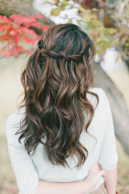 27 Gorgeous Wedding Hairstyles For Long Hair In 2019 Intended For Long Hairstyles Bridesmaid (View 13 of 25)