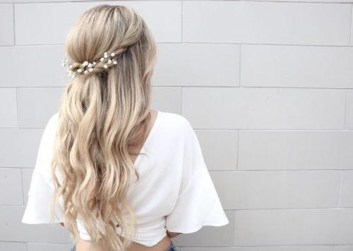 27 Gorgeous Wedding Hairstyles For Long Hair In 2019 Regarding Wedding Long Hairdos (View 13 of 25)