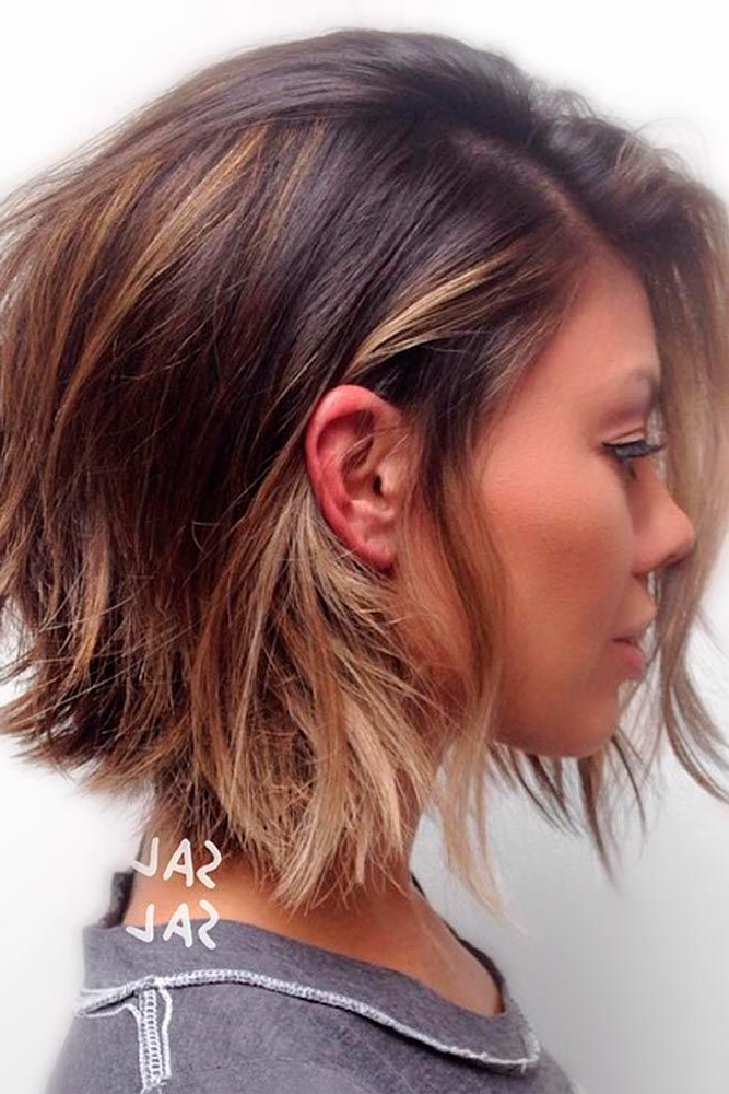 27 Ideas Of Wearing Short Layered Hair For Women | Hair | Hair Throughout Long And Short Layers Hairstyles (View 10 of 25)