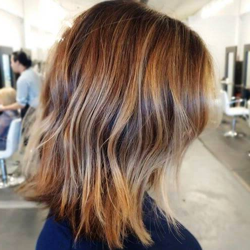 27 Super Easy Medium Length Hairstyles For Thick Hair Throughout V Cut Layers Hairstyles For Straight Thick Hair (View 24 of 25)