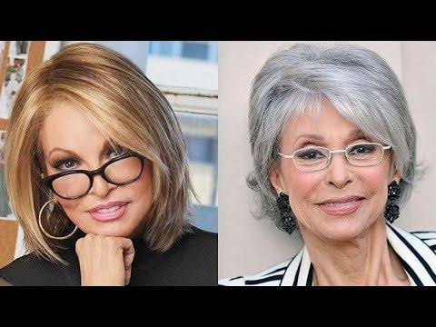 27 Timeless Short Hairstyles For Older Women With Glasses In Long Hairstyles For Girls With Glasses (View 21 of 25)