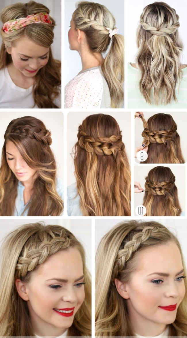 28+ Albums Of Easy Hairstyles For Long Hair Stepstep For Party In Long Hairstyles For Parties (View 13 of 25)