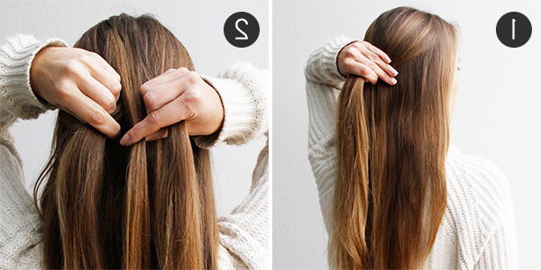 28+ Albums Of Easy Half Up Half Down Hairstyles For Long Straight Regarding Long Hairstyles Down Straight (View 10 of 25)