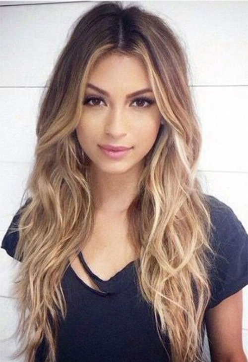 28+ Albums Of Middle Part Hairstyles For Long Hair | Explore With Regard To Middle Parting Hairstyles For Long Hair (View 13 of 25)