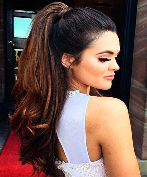 28+ Albums Of Ponytail Hairstyles For Long Hair | Explore Thousands Within Long Hairstyles Ponytail (View 19 of 25)