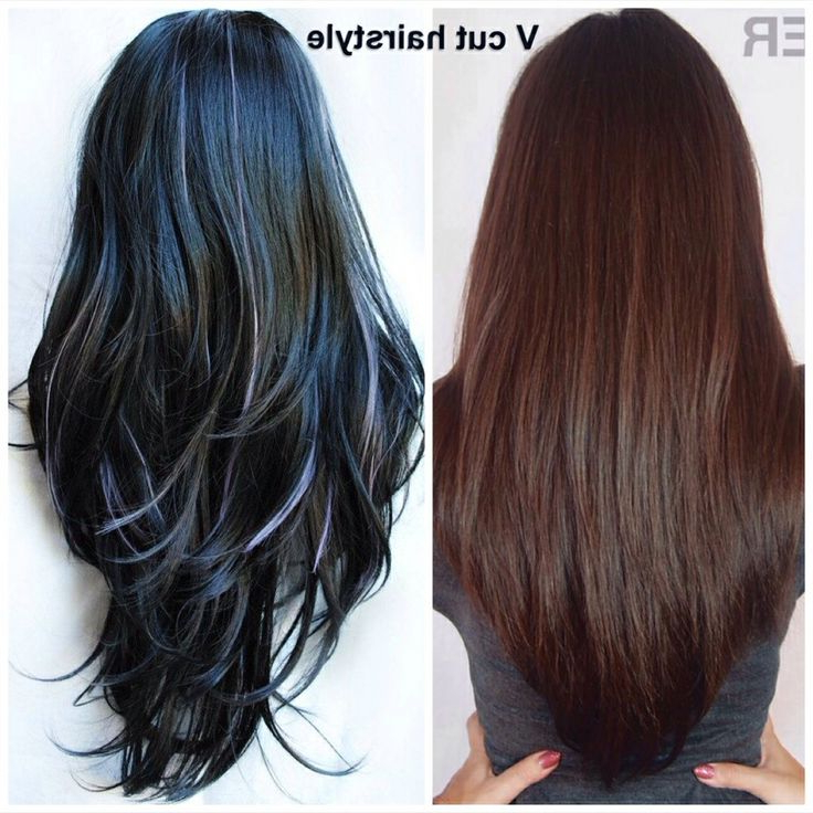 28+ Albums Of V Cut Haircut | Explore Thousands Of New Braids, Bangs In Long Hairstyles V Cut (View 13 of 25)