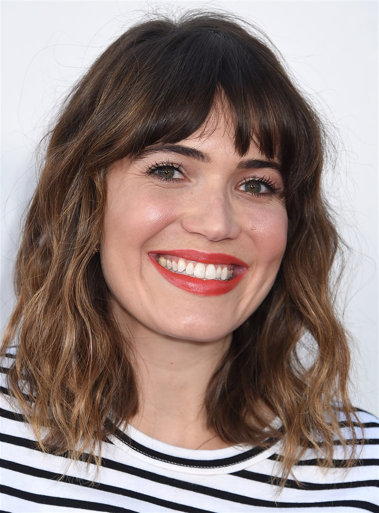 28 Best Hairstyles For Round Faces Within Long Hairstyles With Bangs For Round Faces (View 20 of 25)
