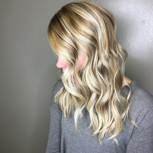 28 Blonde Hair With Lowlights So Hot You'll Want To Try'em All (New Intended For Long Hairstyles Highlights And Lowlights (View 14 of 25)
