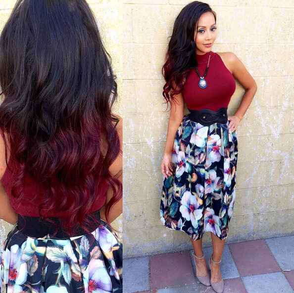 28 Hot Red Hair Color Ideas For 2016 – Pretty Designs Throughout Long Hairstyles Red Highlights (View 25 of 25)