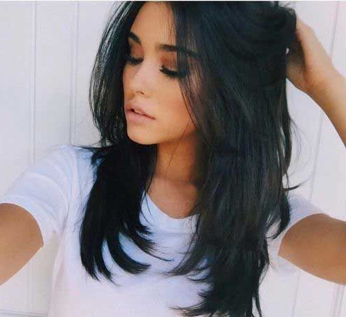 28 Layered Haircuts For Long Hair | Hairstyles | Hair Lengths With Regard To Long Hairstyles Black Hair (View 15 of 25)