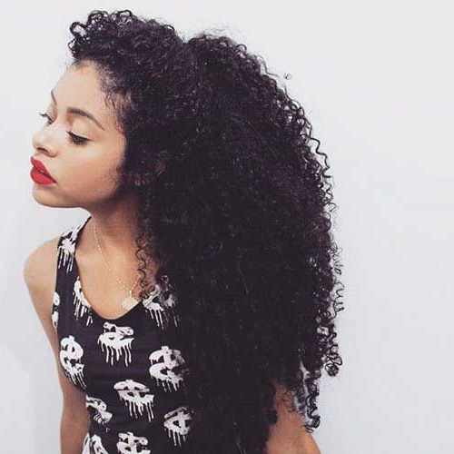 28 Long Naturally Curly Hairstyles | Hairstyles Ideas Pertaining To Long Hairstyles Natural (View 7 of 25)