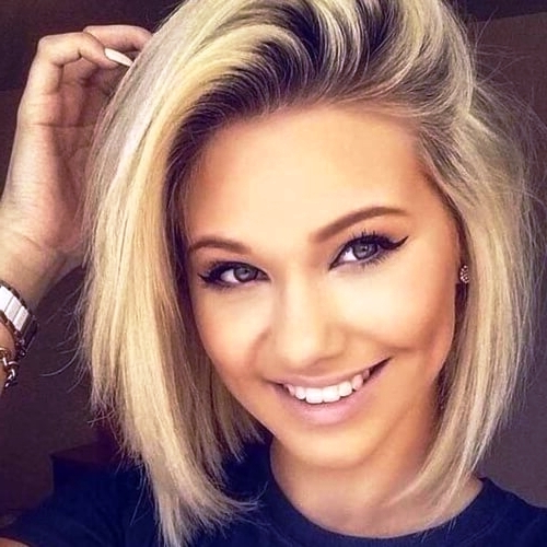 29 Best Hairstyles For Round Faces To Get An Astonishing Look Within Long Hairstyles For Women With Round Faces (View 25 of 25)