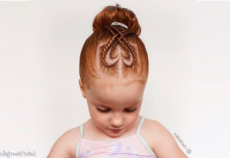 29 Cutest Little Girl Hairstyles For 2019 Intended For Long Hairstyles For Girls (View 7 of 25)