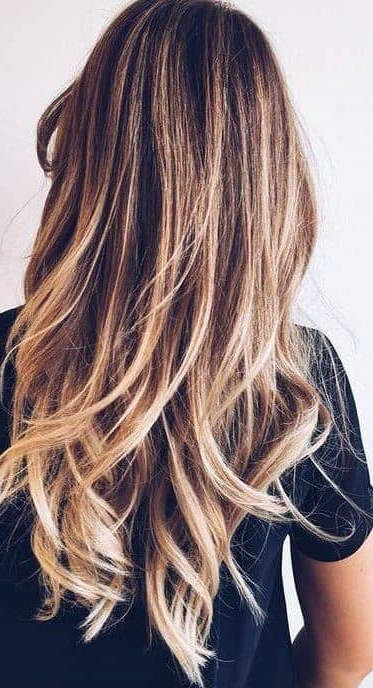 29 Gourgeous Balayage Hairstyles For Balayage Hairstyles For Long Layers (View 5 of 25)