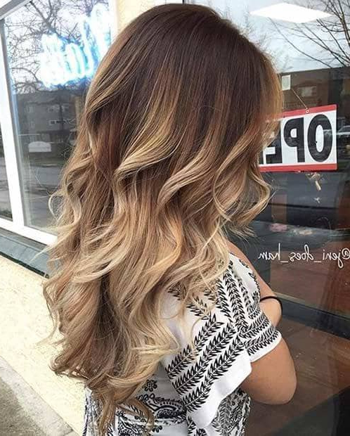 29 Gourgeous Balayage Hairstyles Inside Balayage Hairstyles For Long Layers (View 16 of 25)