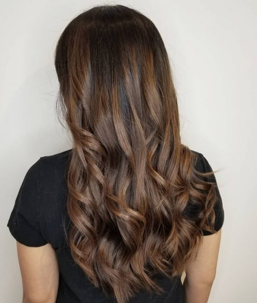 29 Hottest Caramel Brown Hair Color Ideas For 2019 For Warm Toned Brown Hairstyles With Caramel Balayage (View 17 of 25)