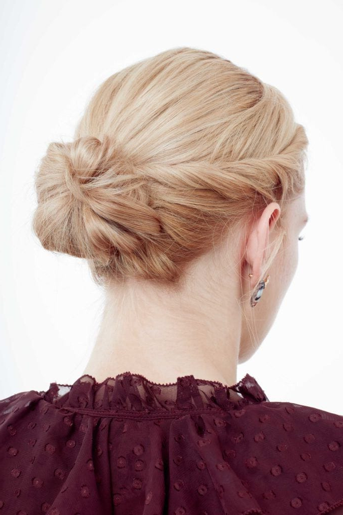 29 Pretty Prom Hairstyles For Short Hair 2019 | All Things Hair Uk Throughout Braid And Fluffy Bun Prom Hairstyles (View 18 of 25)