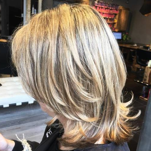 29 Sassy Medium Layered Haircuts To Look Elegantly Outstanding For Mid Back Brown U Shaped Haircuts With Swoopy Layers (View 23 of 25)