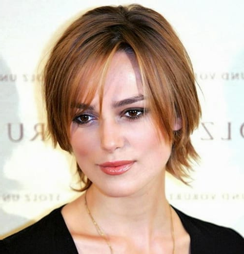 29 Short Hairstyles For Round Faces Women 2018 For Long Haircuts For Round Faces And Thin Hair (View 21 of 25)