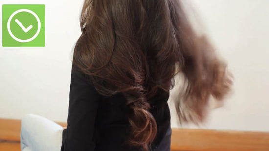 3 Ways To Curl Long Thick Hair – Wikihow Throughout Hair Clips For Thick Long Hairstyles (View 9 of 25)