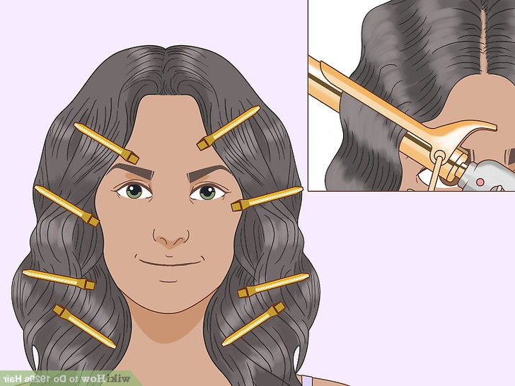 3 Ways To Do 1920S Hair – Wikihow For Long Hairstyles In The 1920S (View 23 of 25)