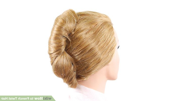 3 Ways To French Twist Hair – Wikihow Intended For Twisted Side Roll Prom Updos (View 25 of 25)