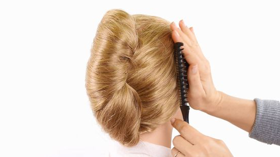 3 Ways To French Twist Hair – Wikihow With French Roll Prom Hairstyles (View 24 of 25)