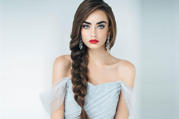 3 Wedding Hairstyles To Try At Home Without Heat | Bebeautiful Intended For Long Hairstyles At Home (View 11 of 25)
