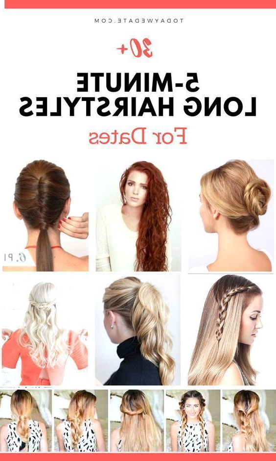 30+ 5Minute Long Hairstyles For Your Perfect Date Night Out For Long Hairstyles For Night Out (View 2 of 25)