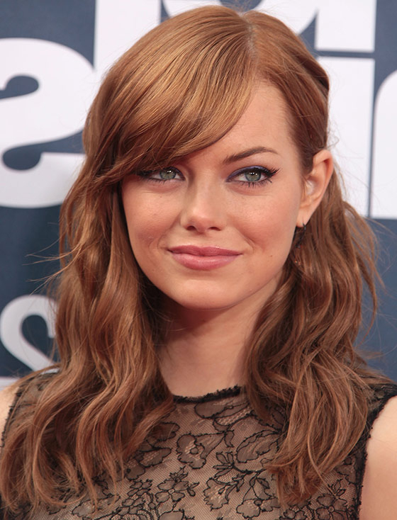 30 Awesome Hairstyles To Hide That Big Forehead With Regard To Long Haircuts For Big Foreheads (View 2 of 25)