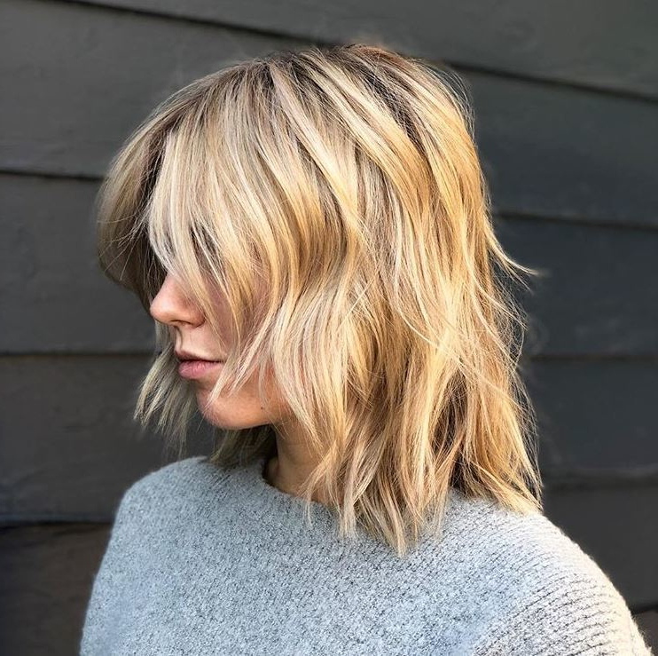 30 Best Choppy Bob Hairstyles For 2019 | All Things Hair Uk Intended For Long Blonde Choppy Hairstyles (View 7 of 25)