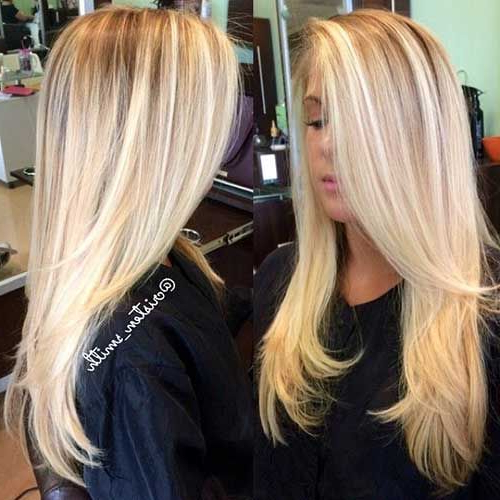 30 Best Long Haircuts With Layers   Blonde Hair   Hair, Blonde Hair With Blonde Long Haircuts (View 3 of 25)