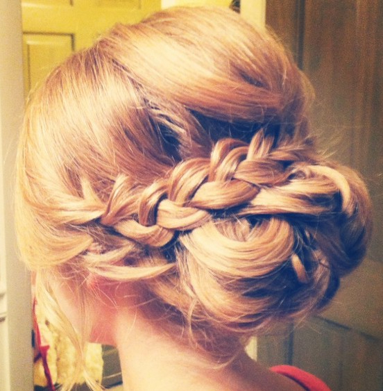 30 Best Prom Hair Ideas 2019: Prom Hairstyles For Long & Medium Hair Intended For Twisted Prom Hairstyles Over One Shoulder (View 2 of 25)