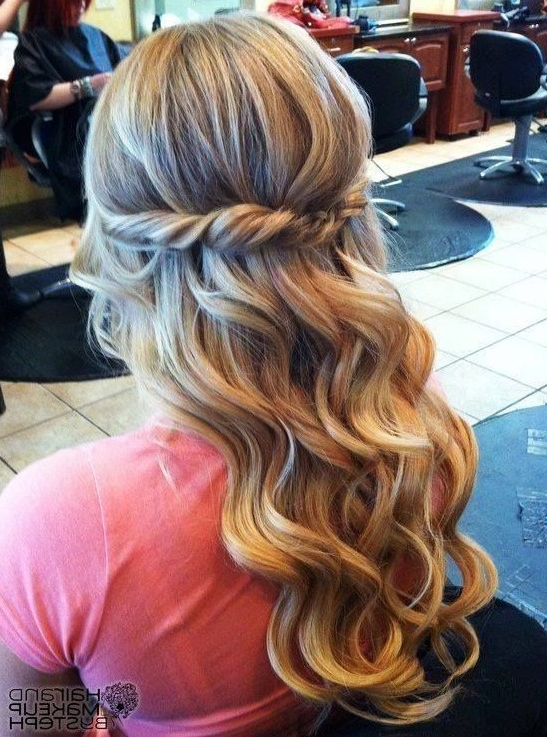 30 Best Prom Hair Ideas 2019: Prom Hairstyles For Long & Medium Hair Throughout Twisted Prom Hairstyles Over One Shoulder (View 15 of 25)