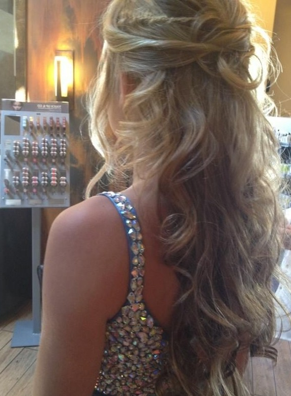 30 Best Prom Hair Ideas 2019: Prom Hairstyles For Long & Medium Hair With Long Hairstyles For A Ball (View 21 of 25)