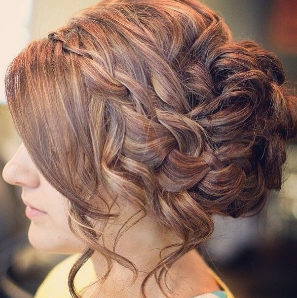 30 Best Prom Hair Ideas 2019: Prom Hairstyles For Long & Medium Hair Within Elegant Curled Prom Hairstyles (View 10 of 25)