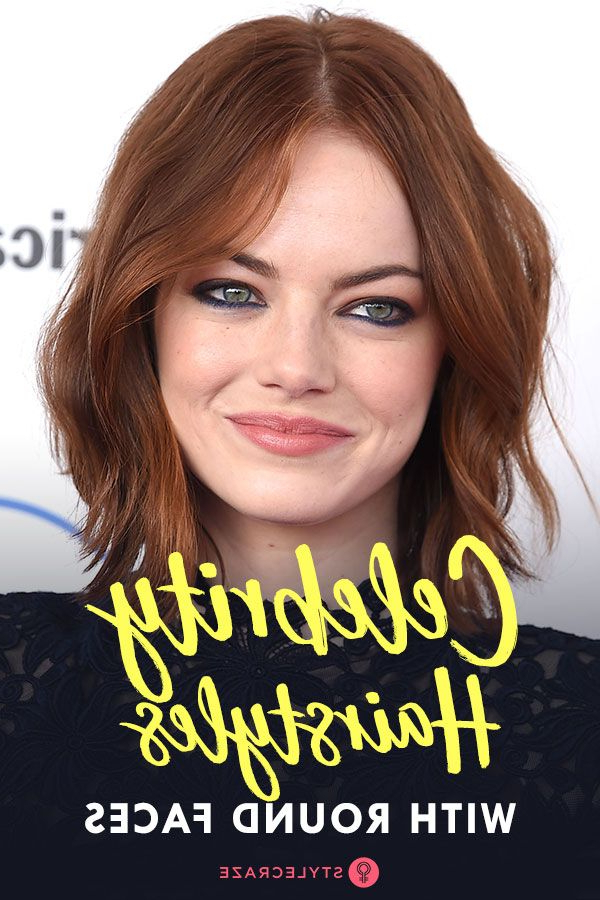 30 Best Round Faced Celebrity Hairstyles | Face Shape | Round Face Throughout Long Hairstyles Round Face Shape (View 15 of 25)
