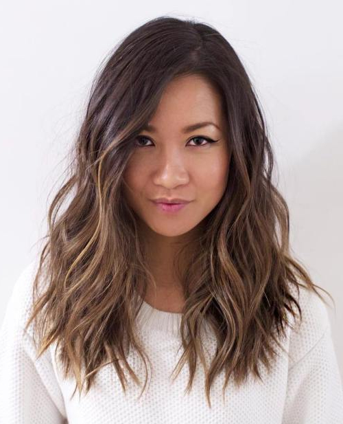 30 Brunette Hairstyles For Women – Most Fancy And Classy Style To In Long Haircuts For Brunettes (View 23 of 25)