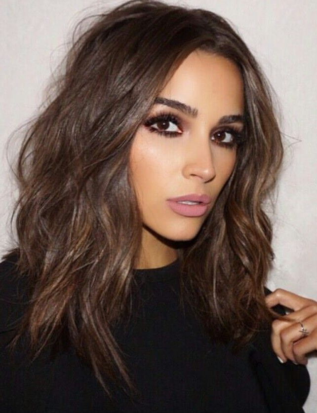 30 Brunette Hairstyles For Women – Most Fancy And Classy Style To Throughout Long Hairstyles For Brunettes (View 24 of 25)