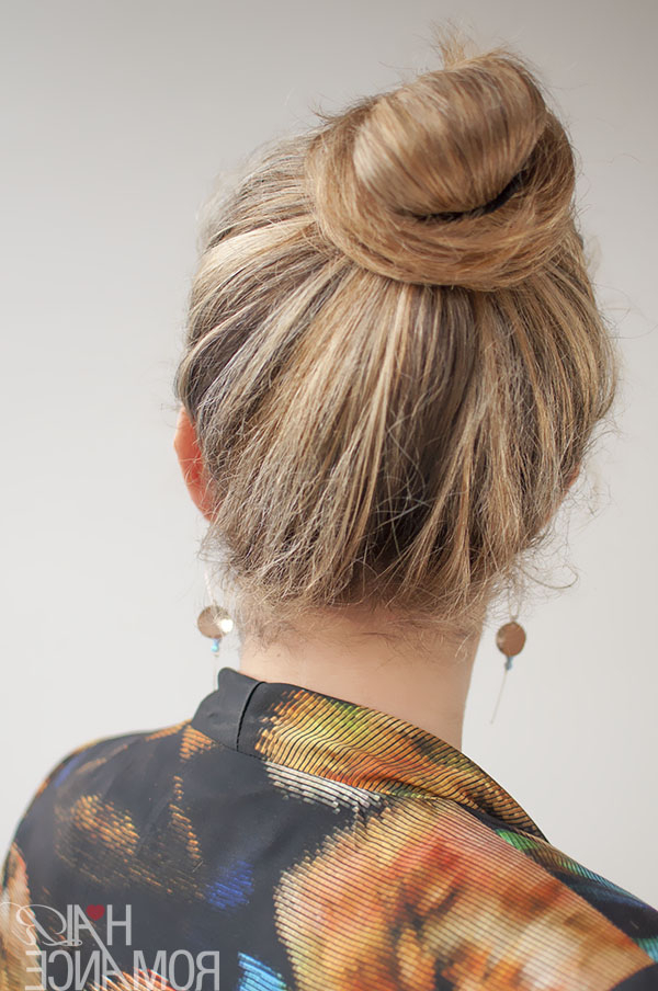 30 Buns In 30 Days – Day 20 – Top Knot Bun – Hair Romance With Regard To Long Hairstyles Knot (View 20 of 25)