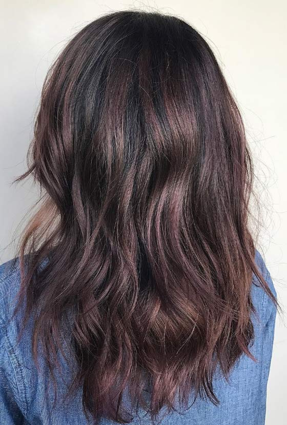 30 Chic Highlight Ideas For Your Brown Hair Intended For Long Hairstyles Brown With Highlights (View 12 of 25)