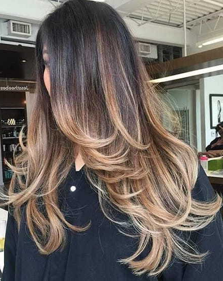 30 Classic Long Hairstyles For Indian Women – Hairstylecamp Throughout Indian Hair Cutting Styles For Long Hair (View 7 of 25)